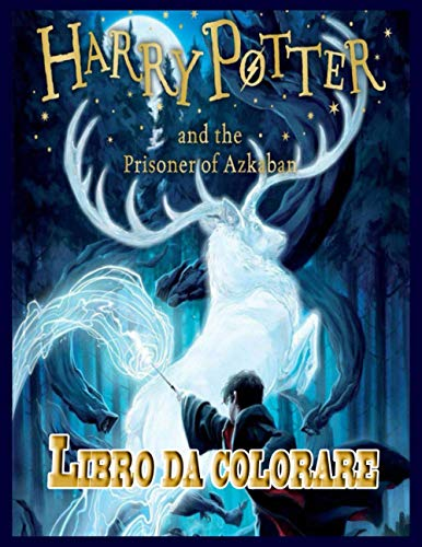 Harry Potter libro da colorare⚡️