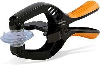 MMOBIEL Outils pour ouverture/réparation d'écrans LCD compatible tous types de Smartphones et Tablettes + pincettes et ventouse incluses (Orange)
