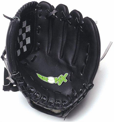 Bronx PVC Senior, Guantone da baseball/softball, Nero, 11'