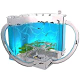 Jlxl 3D Ant Farm Habitat Educational & Learning Science Kit Toy For Kids & Adults - Allows Study Of Ecosystem, Behavior Of Ants Within Maze Of Translucent Gel (Color : Blue)