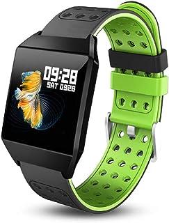 HBBOOI Pantalla Color de la Pantalla Control de Actividad Color del Reloj Reloj de la Aptitud del Reloj Inteligente con Pulsómetro Reloj podómetro de calorías for los Hombres de Las Mujeres