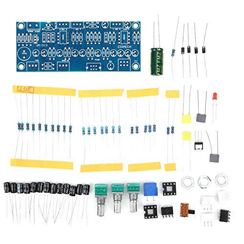 Placa de preamplificador, 2.0 Tono completo + 0.1 Preamplificador de graves Componente electrónico Frecuencia de graves Ajuste de fase Placa de amplificador de audio para subwoofer para
