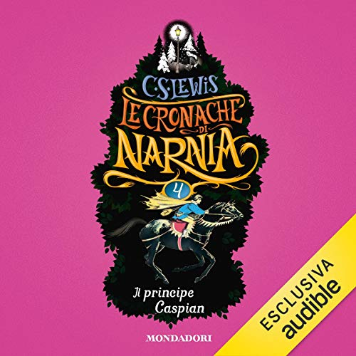 Il principe Caspian audiobook cover art