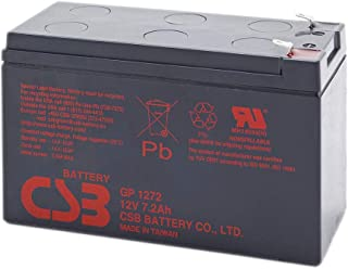 CSB GP1272 12V / 7.2 AH Sealed Lead Acid Battery w/ F2 Terminal