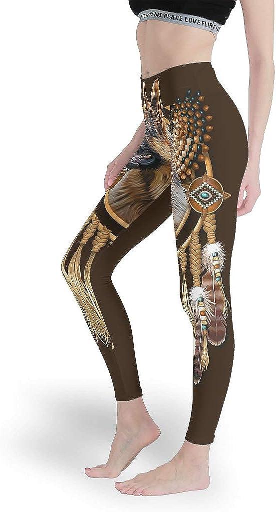 Sporthose f/ür Yoga Generic Branded Sport Leggings Deutscher Sch/äferhund Traumf/änger Damen Stil Diversity dehnbar