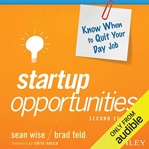 Startup Opportunities cover art