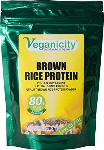 veganicity veganicity brown rice protein