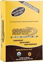 12gオーガニックプロテインフードバー チョコレートチップ アメリカ農務省(USDA)公認オーガニック使用 【お得な24本セット・500円引き】 【国内・アメリカからの送料無料】 12gオーガニックプロテインを使用 Organic Food Bar Chocolate Chip
