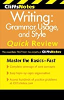 CliffsNotes Writing: Grammar, Usage, and Style Quick Review, 3rd Edition (Cliffs Quick Review (Paperback)) by Claudia L Reinhardt Jean Eggenschwiler(2011-02-11)