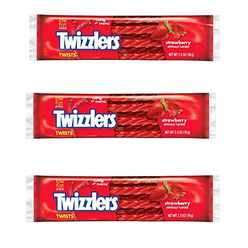 American Candy Twizzlers Soft Chewy Sweets 3X Pack