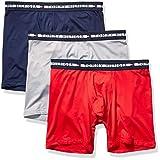 Tommy Hilfiger Men's Comfort + Multipack Boxer Briefs, Mahogany (Multi 3 Pack), M