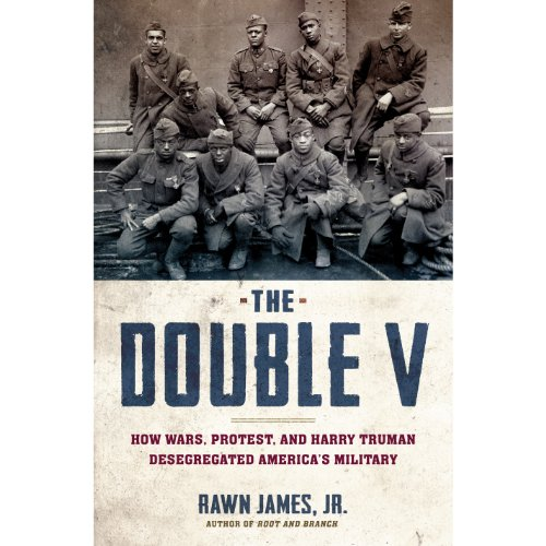The Double V audiobook cover art