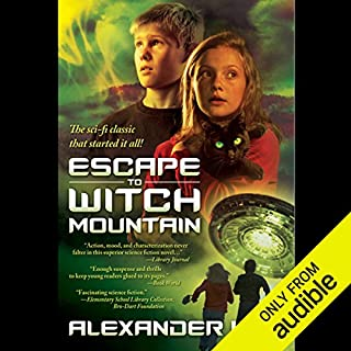 Escape to Witch Mountain                    By:                                                                                                                                 Alexander Key                               Narrated by:                                                                                                                                 Marc Thompson                      Length: 4 hrs and 8 mins     255 ratings     Overall 4.2