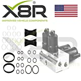 X8R ABC Hydraulic Valve Block Solenoid Oil Seal Repair Fix Rebuild Kit Compatible With Mercedes Benz Part: X8R0147