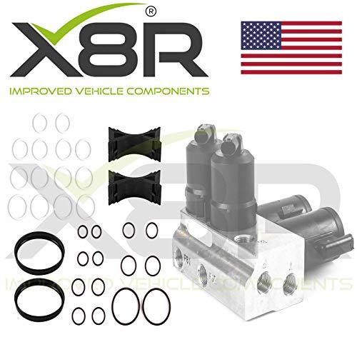 X8R ABC Hydraulic Valve Block Solenoid Oil Seal Repair Fix Rebuild Kit Compatible With Mercedes Benz Part: X8R0147