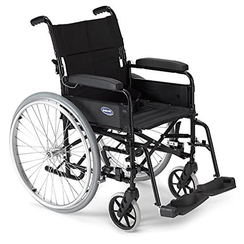 Invacare Ben 9 NG Rollstuhl, selbstfahrend, Schwarz
