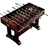 56' Premium Solid Wood Veneer Foosball Soccer Table With Antique...
