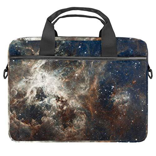 Funda para portátil de 13,4 a 14 pulgadas, multifuncional, maletín portátil, correa ajustable para el hombro, diseño abstracto