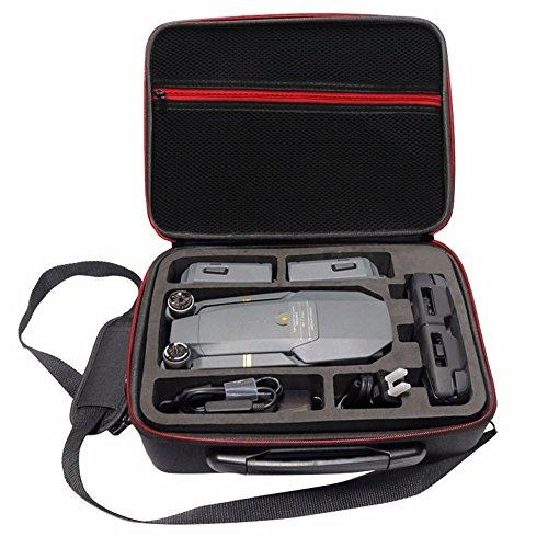 drone mavic Rantow Scatola di Case Impermeabile Hardshell per DJI Mavic PRO Drone Borsa a Tracolla Dura Nera Porta Valigia