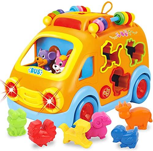 REMOKING Musik Baby Spielzeug, Spielzeug Auto, Kleinkinder Motorikspielzeug,...