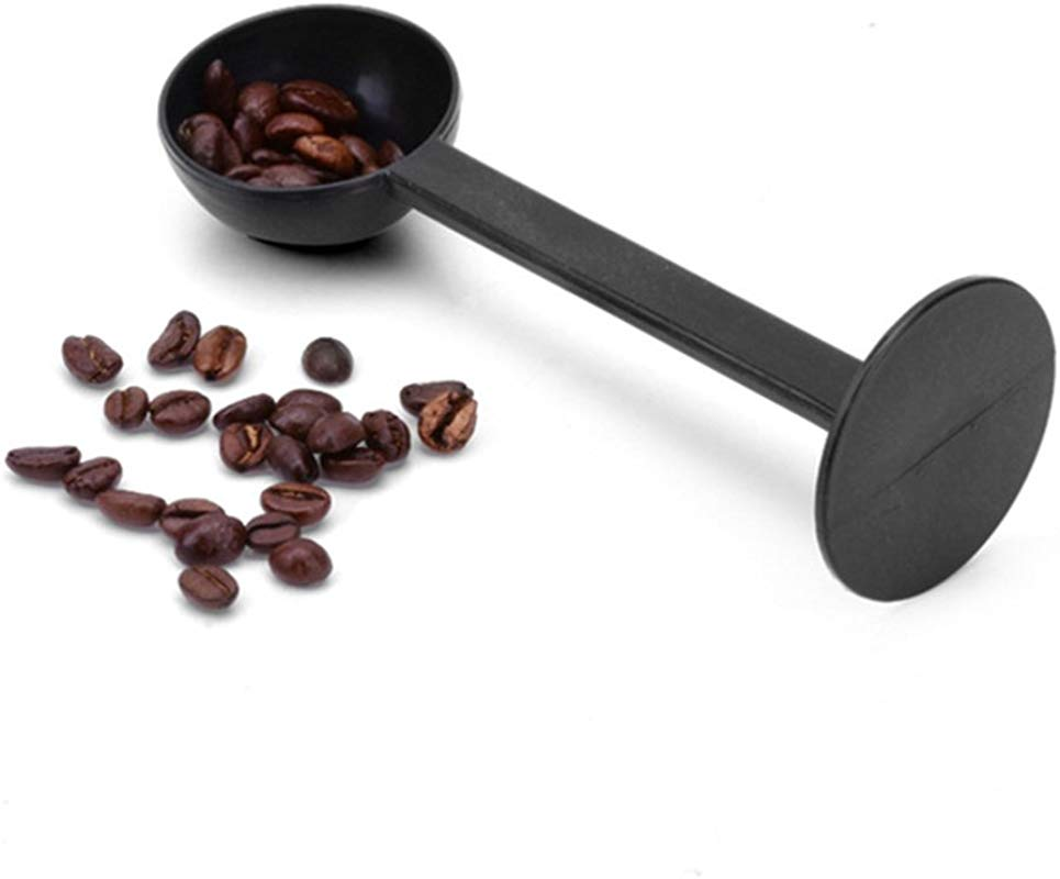 Coffee Measuring Spoon Tamper 15 5cm Coffee Spoon Pro Kitchen PP 2 In 1 Multifunctional Drink Tableware Espresso Stamp Scoop Press Coffee Machine Accessories Tools