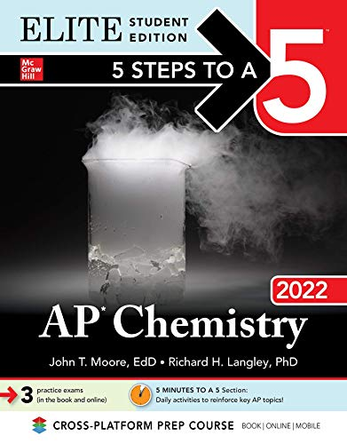 5 Steps to a 5: AP Chemistry 2022 Elite Student Edition