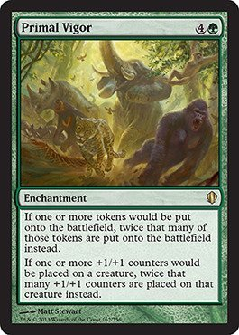 Magic The Gathering - Primal Vigor (162/356) - Commander 2013