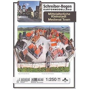 KARTONMODELLBAU ALTE KÜCHE   SCHREIBER-BOGEN 72469  Bastelbogen