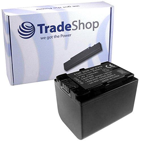 Hochleistungs Kamera Li-Ion Akku für Sony HDR DCR SX44E SX53E SX73E SX30E SX31E SX40E SX15 SX15E SX45 SX45E SX45ER SX65 SX65E SX85 SX85E SX85ES