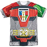 Voltron Defender of The Univese Adult Sublimation Costume T-Shirt (Adult XXX-Large)