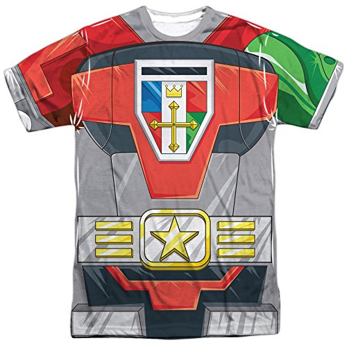 Voltron Defender of The Univese Adult Sublimation Costume T-Shirt (Adult X-Large)