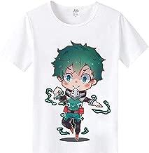 STH My Hero Academia Izuku Midoriya Cosplay Boku No Hero Academia Short Sleeve Tshirt