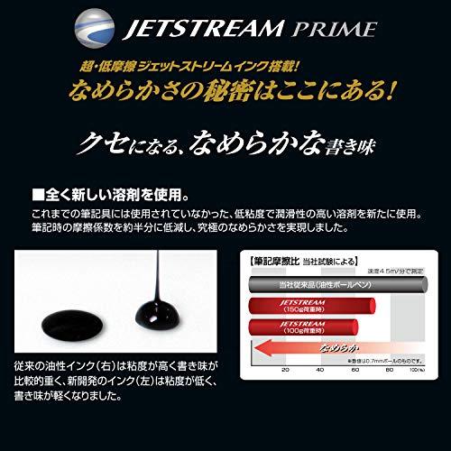 三菱鉛筆多機能ペンジェットストリームプライム3&10.5ダークボルドーMSXE4500005D65
