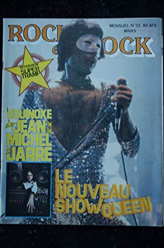 ROCK en STOCK 1979 n° 22 SUPER TRAMP Jean-Michel JARRE QUEEN LAVILLIERS JONASZ AL JARREAU