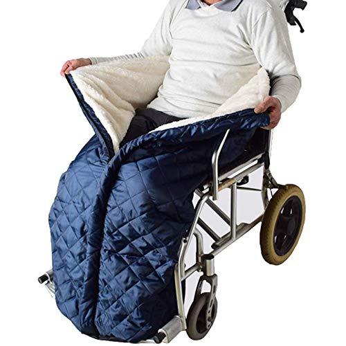 BIUYYY wasserdichte und komfortable Rollstuhldecke, Universal fit für manuell und elektrisch betriebene Rollstühle, maschinenwaschbar, Erwachsene Größe