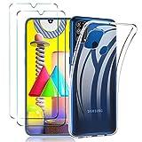 ILUXUS Klar Silikon Hülle für Samsung Galaxy M31