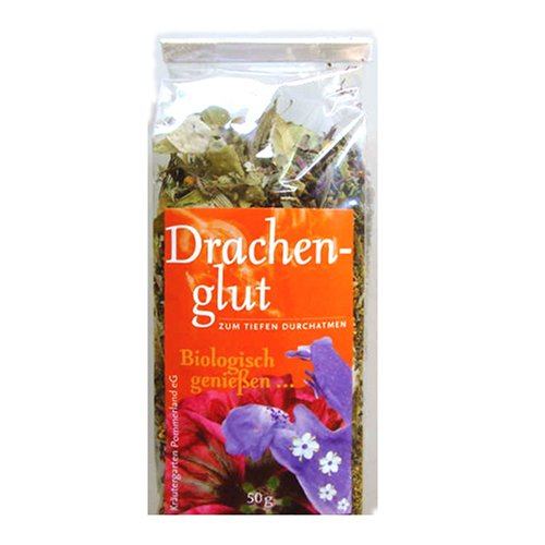 Kräutergarten Pommerland Drachenglut Kräutertee lose, 50 g, Bio
