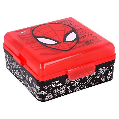 Stor SANDWICHERA Multiple Cuadrada Spiderman Urban Web