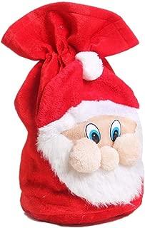 Yosoo Christmas Decoration Large Santa Claus Gift Stocking Bag Presents Sack Filler