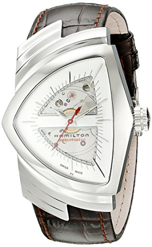 Hamilton Men's H24515551 Ventura Analog Display Automatic Self Wind Brown Watch