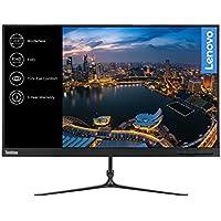 """Lenovo L24i - Monitor de 23.8"""" (Pantalla FullHD/IPS, 1920 x 1080 pixeles, tiempo de respuesta de 4 ms, VGA, HDMI, 1000:1), Color negro"""