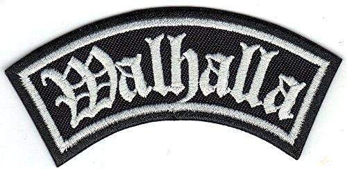 Walhalla, Wikinger Biker Rider Rankpatch Odin Thor Northmen Aufnäher Patch
