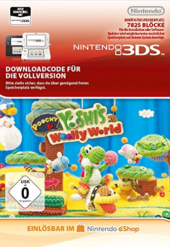Poochy & Yoshi's Woolly World [3DS Download Code]