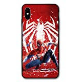 Comics iPhone XR Case Full Body Protection Cover Cases (Spider-Man)