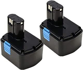 VANTTECH 2-Pack 14.4V EB1414S Battery for HITACHI 14.4-volt Cordless Drill Power Tools 315128 315129 315130 324367 EB1412S EB1414 EB1424 EB14B EB14S