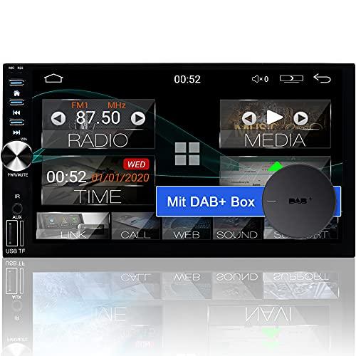 Tristan Auron BT2D7026A Android 10 Autoradio mit Navi + DAB Plus Box I 7