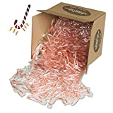 Bobs Red & White Mini Peppermint Candy Canes - Bulk Pack - Over 1,000 Candy Canes with Exclusive InPrimeTime Candy Cane Magnet