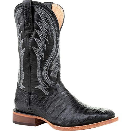 Durango Premium Exotics Black Onyx Caiman Western Boot Size 9(M)