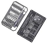 Präzisions Schraubendreher Satz, JAKEMY 73 in 1 S2-Schraubendreher Reparatur Tool Kit Elektronik Magnet Treiber Kit mit flexiblem Schaft für Smartphone/Telefon/Tablet/PC/Laptop