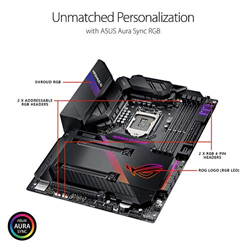 Build My PC, PC Builder, ASUS ROG Maximus XI Code